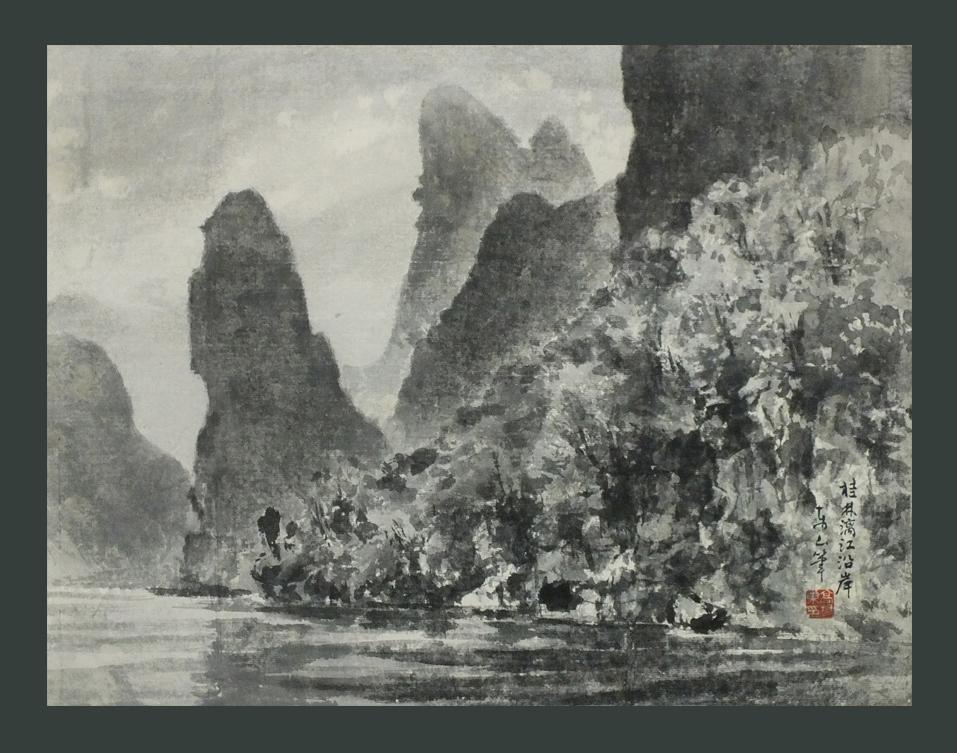 ●桂林 漓江沿岸 8号