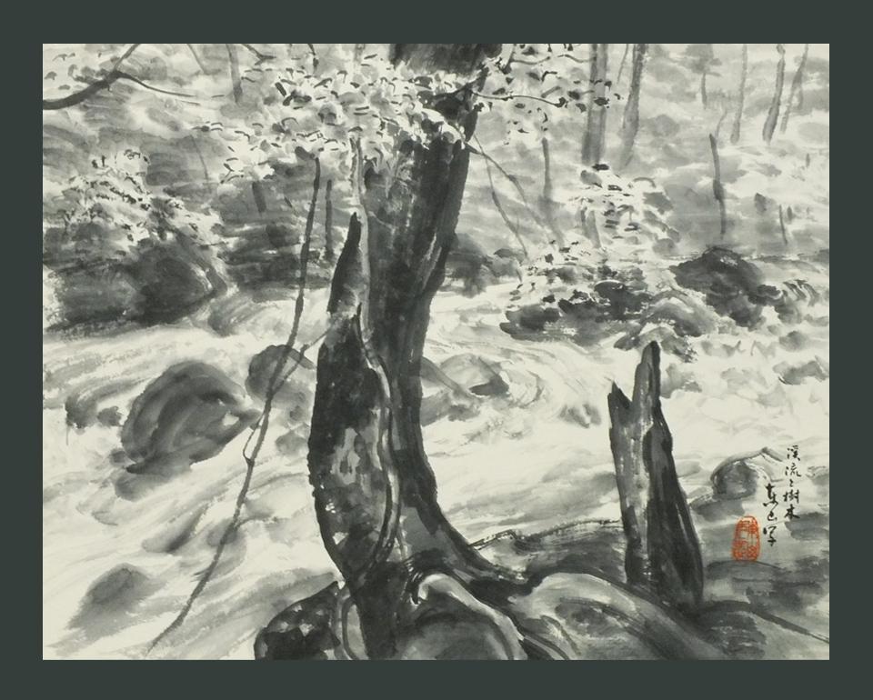 ●渓流と樹木 奥入瀬  8号