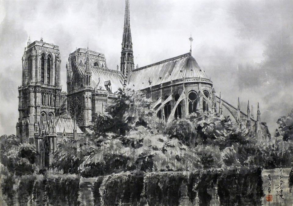 The Notre-Dame.